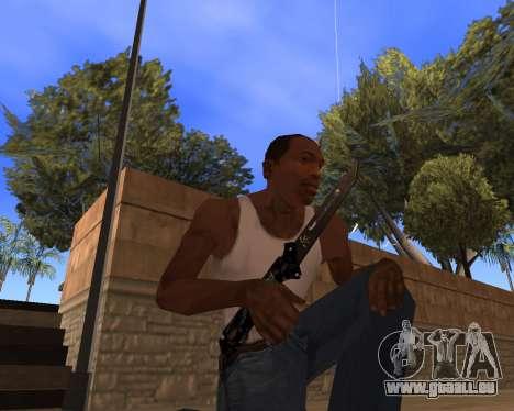 Hitman Weapon Pack v1 für GTA San Andreas dritten Screenshot