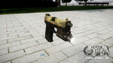 Pistolet HK USP 45 flore pour GTA 4