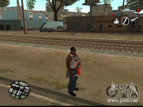 C-HUD Good pour GTA San Andreas deuxième écran