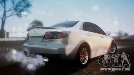 Mazda 6 MPS pour GTA San Andreas laissé vue