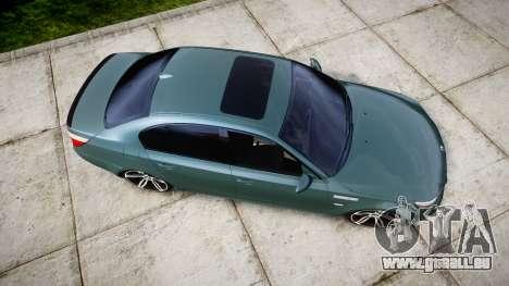 BMW M5 E60 v2.0 Stock rims pour GTA 4 est un droit