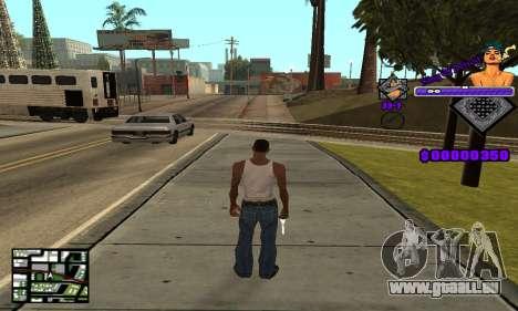 C-HUD King Of Detroit für GTA San Andreas zweiten Screenshot