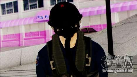 Chinese Jet Pilot from Battlefield 4 für GTA San Andreas dritten Screenshot
