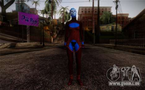 Asari Dancer from Mass Effect für GTA San Andreas
