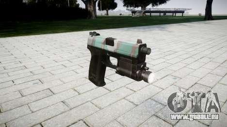 Pistolet HK USP 45 varsovie pour GTA 4