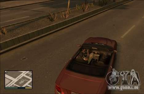 Hacher GTA 4 v1.1 pour GTA 4 troisième écran