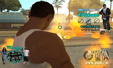 C-HUD Aztec El Corona für GTA San Andreas fünften Screenshot