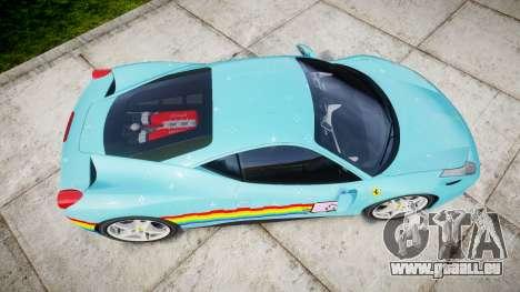 Ferrari 458 Italia 2010 v3.0 Purrari pour GTA 4 est un droit