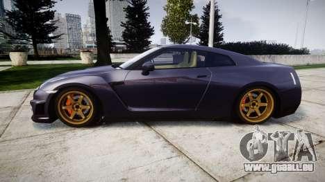 Nissan GT-R R35 2012 pour GTA 4 est une gauche