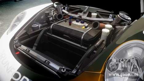 RUF RGT-8 GT3 [RIV] Nelris für GTA 4 Innenansicht