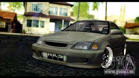 Honda Civic 1997 pour GTA San Andreas