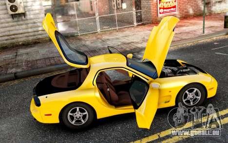 Mazda RX-7 1997 FD3s [EPM] pour GTA 4 est une gauche