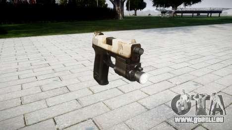 Pistole HK USP 45 nevada für GTA 4