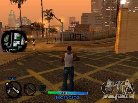 C-HUD COOL pour GTA San Andreas