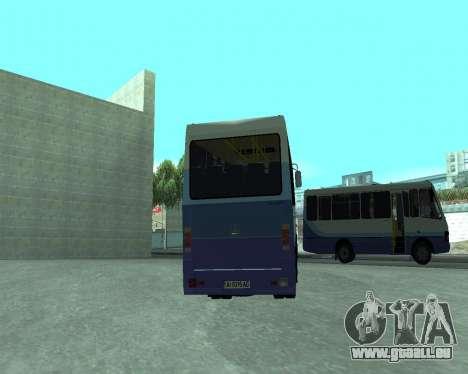 Les BASES de données Touristiques pour GTA San Andreas sur la vue arrière gauche