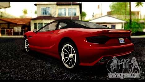 GTA 5 Hijak Khamelion IVF pour GTA San Andreas laissé vue