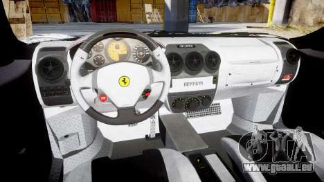 Ferrari F430 Scuderia 2007 Sharpie für GTA 4 Innenansicht