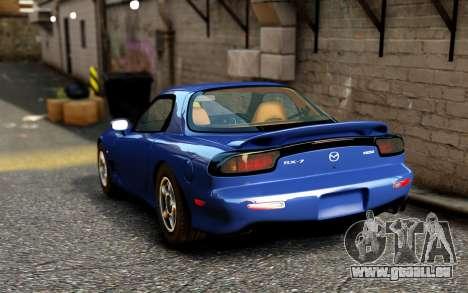 Mazda RX-7 1997 FD3s [EPM] pour GTA 4 Vue arrière de la gauche