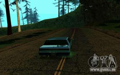 ENB pour les moyennes et faibles PC pour GTA San Andreas deuxième écran