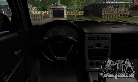 Installé Avant 2171 pour GTA San Andreas sur la vue arrière gauche