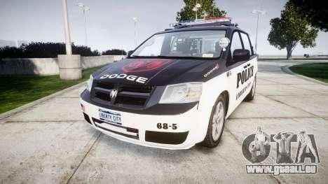 Dodge Grand Caravan LCPD [ELS] für GTA 4