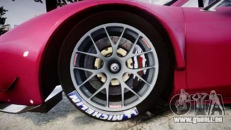 Ferrari 458 GT2 pour GTA 4 Vue arrière