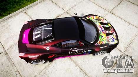 Ferrari 458 GT2 für GTA 4 rechte Ansicht
