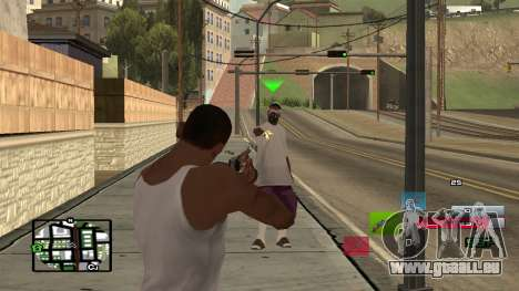 C-HUD by SampHack v.19 für GTA San Andreas zweiten Screenshot