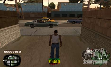 C-HUD Rasta für GTA San Andreas