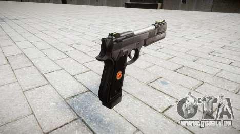 Пистолет Beretta M92 Samurai Edge S.T.A.R.S. pour GTA 4 secondes d'écran
