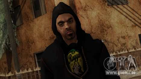 GTA 4 Skin 15 pour GTA San Andreas troisième écran