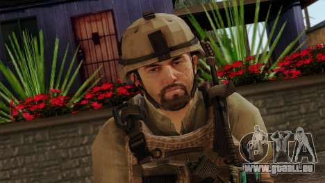 Modern Warfare 2 Skin 13 pour GTA San Andreas troisième écran