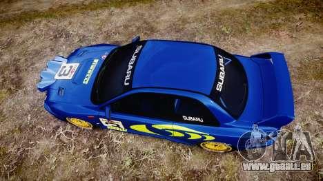 Subaru Impreza WRC 1998 v4.0 World Rally pour GTA 4 est un droit