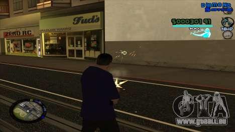 C-HUD Lopez pour GTA San Andreas deuxième écran
