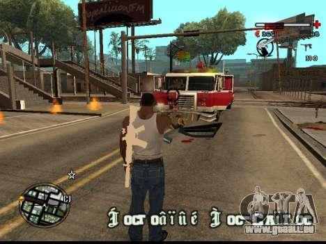 C-HUD Good pour GTA San Andreas quatrième écran