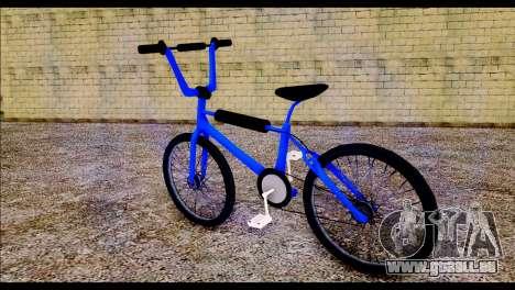 New BMX Bike pour GTA San Andreas laissé vue