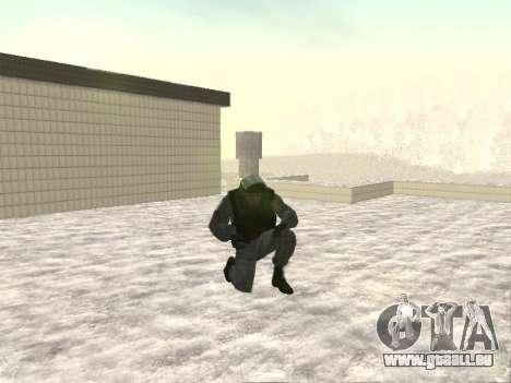 OMON MVD DE LA FÉDÉRATION DE RUSSIE pour GTA San Andreas deuxième écran