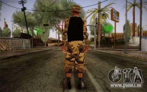Ginos Ped 14 pour GTA San Andreas deuxième écran