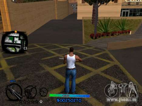 C-HUD COOL pour GTA San Andreas deuxième écran