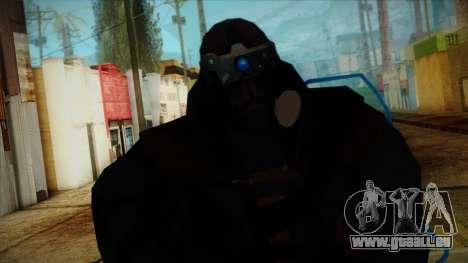 Super Soldier from Prototype 2 für GTA San Andreas dritten Screenshot