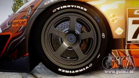 RUF RGT-8 GT3 [RIV] Bear pour GTA 4 Vue arrière