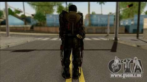 Stalkers Exoskeleton pour GTA San Andreas deuxième écran