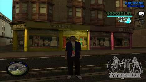C-HUD Lopez für GTA San Andreas