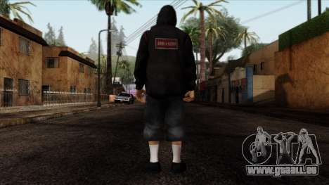 GTA 4 Skin 15 pour GTA San Andreas deuxième écran