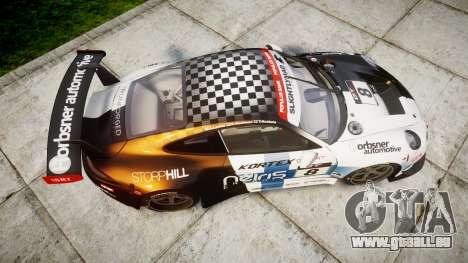 RUF RGT-8 GT3 [RIV] Nelris für GTA 4 rechte Ansicht
