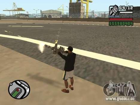 La double propriété de toutes les armes pour GTA San Andreas sixième écran