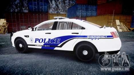 Ford Taurus 2014 Liberty City Police [ELS] pour GTA 4 est une gauche