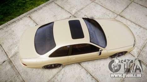 Lexus SC300 1997 pour GTA 4 est un droit