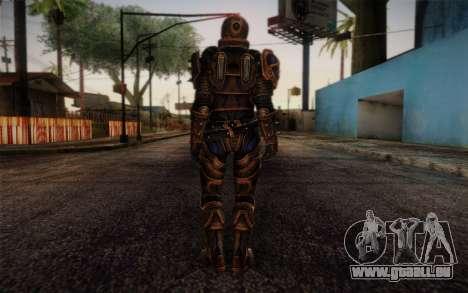 Shepard Reckoner Armor from Mass Effect 3 für GTA San Andreas zweiten Screenshot