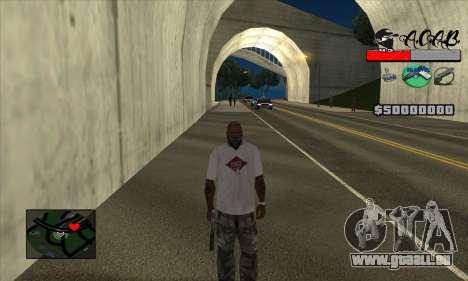 C-HUD A.C.A.B pour GTA San Andreas troisième écran